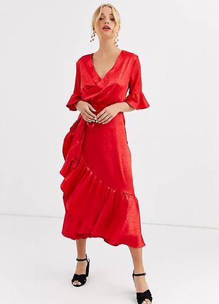 Платье на запах 46 размер