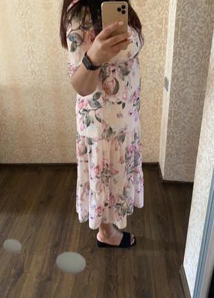 Нарядное платье шифон