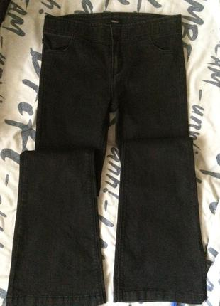 Базовые джинсы клёш