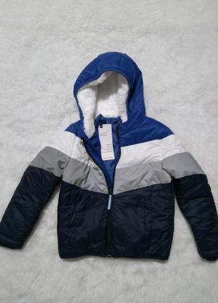 Куртка hema для мальчика демисезонная, р.110-116