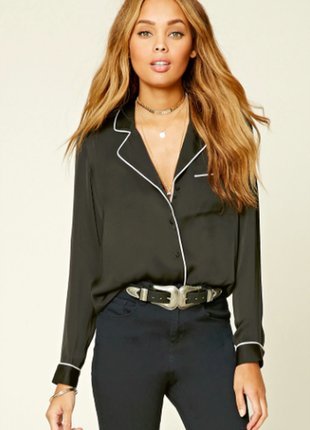 Рубашка в бельевом стиле