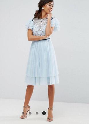 Неймовірно красиве та ніжне плаття в камінчиках від asos petite🤩