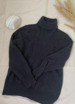 Кашемировый свитер с высокой горловиной