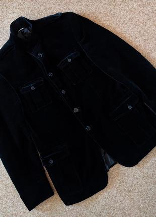 Велюровый пиджак куртка karl lagerfeld