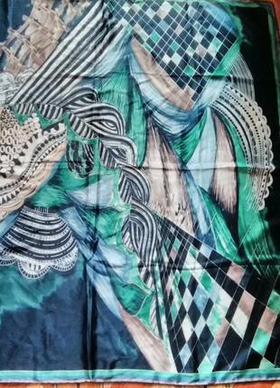 Шелковый платок.