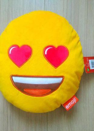 Класна подушка- смайл emoji / нова подушка оригінал/нідерланди