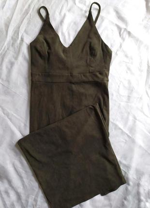 Обалденное платье цвета хаки ❤️