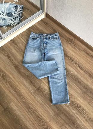 Мом джинсы на высокой посадке