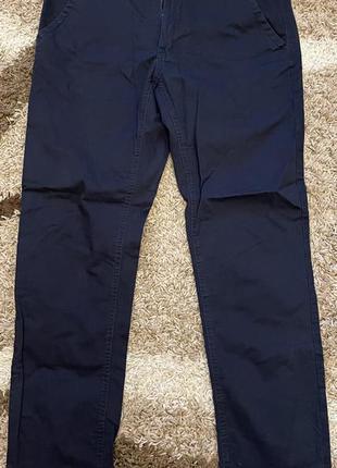 Cropp мужские штаны (синиие)