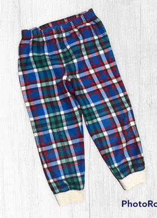 Next пижамные штаны в клетку для дома и сна на мальчика 3-4 года