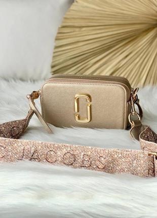 Женская сумочка marc jacobs snapshot gold