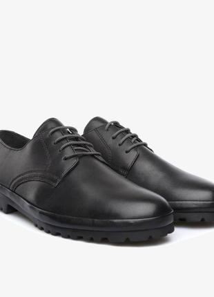 Шкіряні туфлі кожаные туфли camper pegaso