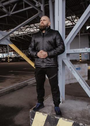 Куртка мужская демисезонная экокожа