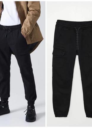Плотные джогеры , джинсы на резинке