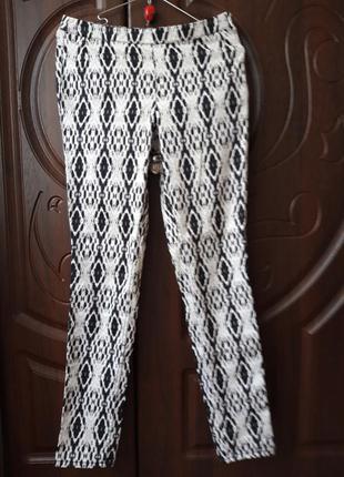 Фірменні штани h&m в принт