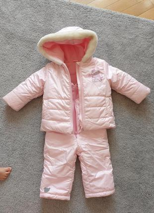 Комплект курточка и  комбинезон