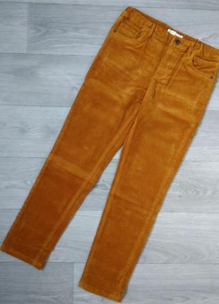 Вельветовые штаны брюки джинсы вельветові штани джинси name it 146 152