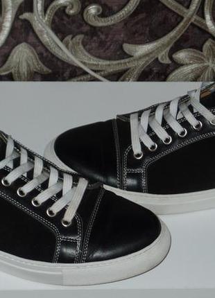 Фирменные кожаные туфли р40-41