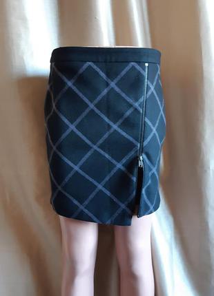 Стильная юбка  карандаш tom tai.lor теплая новая р.36 eur