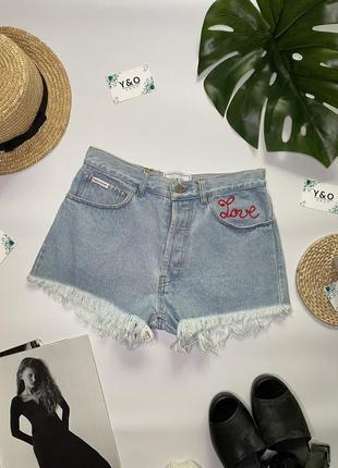 Джинсовые шорты 'bella' от forte couture