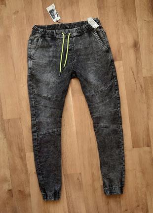 House джинсовые джоггеры