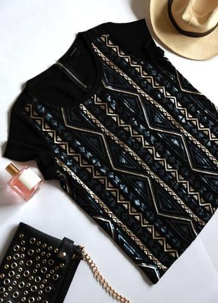 Esmara футболка-блуза в паєтках