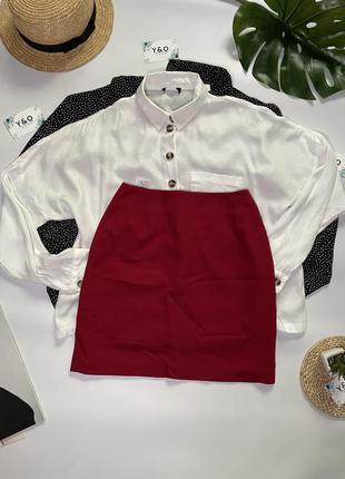 Очень красивая юбка малиновая юбка 🖤next🖤