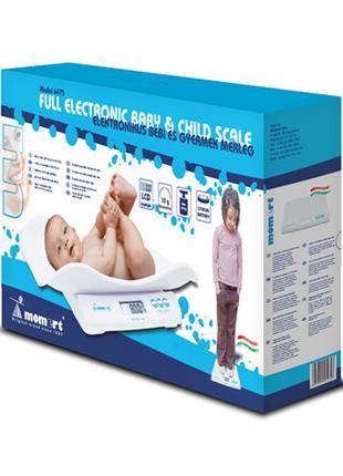 Электронные весы для новорожденных momert 6475 (2764-404)