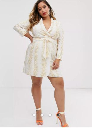 Платье на запах 56-58 размер
