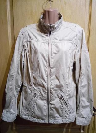 Котоновая куртка ветровка пиджак