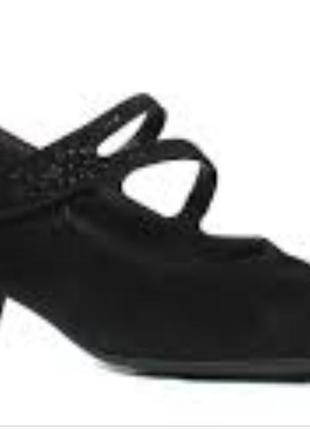 Кожаные женские туфли р.39.5