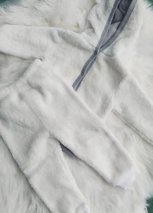 Тёплый мягкий костюм для малыша 12 месяцев