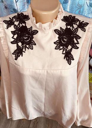 Шикарная, очень классная блуза