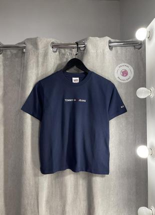 Новая базовая футболка tommy hilfiger с бирками оригинал