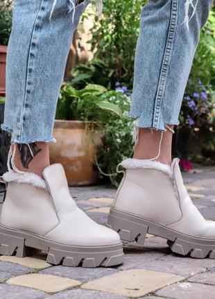 Детские кожаные ботинки, дитячі шкіряні черевики