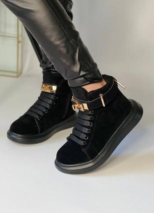 Стильные осенние ботинки для девочки