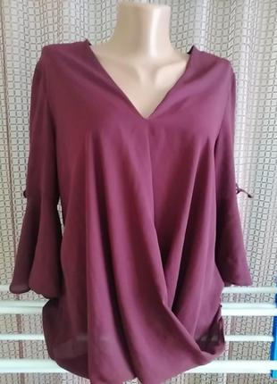 New look блуза кофта шифонова