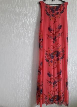 Шелковое платье в пол, италия, s-l