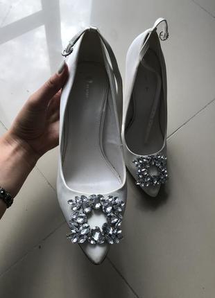 Туфли туфлі шпилька каблук лодочки весільні свадебные випускні выпускные