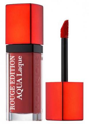 Bourjois rouge edition aqua laque жидкая помада для губ 06