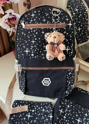 Детский рюкзак комплектом портфель
