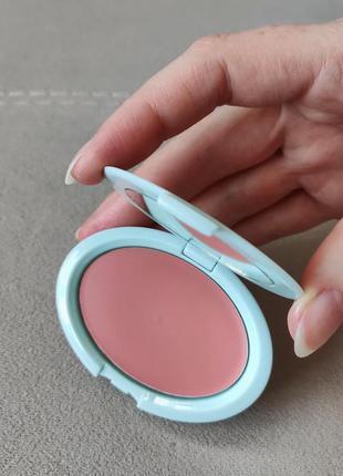Кремовые румяна tarte breezy cream blush - peach sunset