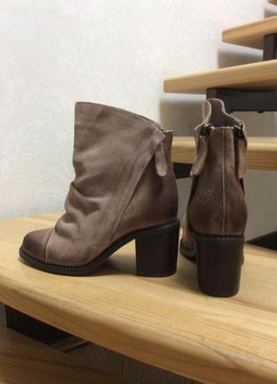 Замшевые ботинки sbicca . оригинал