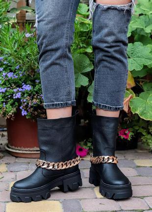 Детские кожаные ботинки, жіночі шкіряні черевики