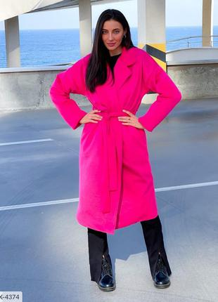 Пальто-халат утепленное