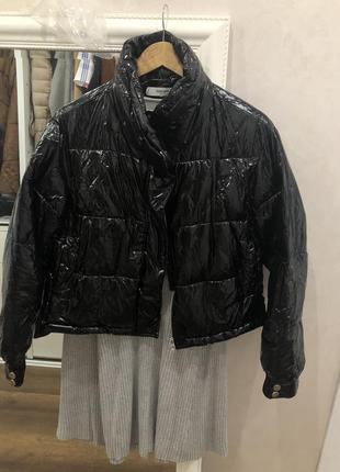 Укорочённая курточка mango