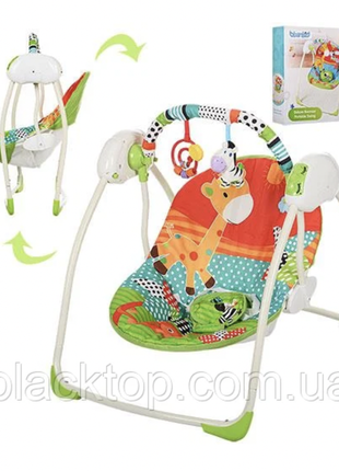 Детские музыкальные качели для новорожденных bambi m 3242 детский напольный шезлонг качели для малыш