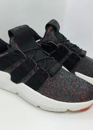Кроссовки adidas prophere black solar red оригинал