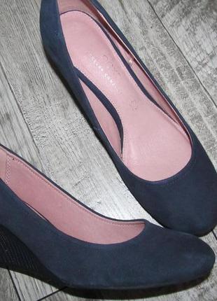 Next замшевые туфли р. 38-24см