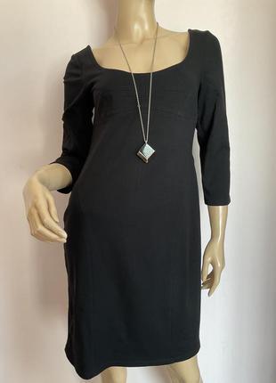 Чёрное коктельное  платье/м/brend alba moda